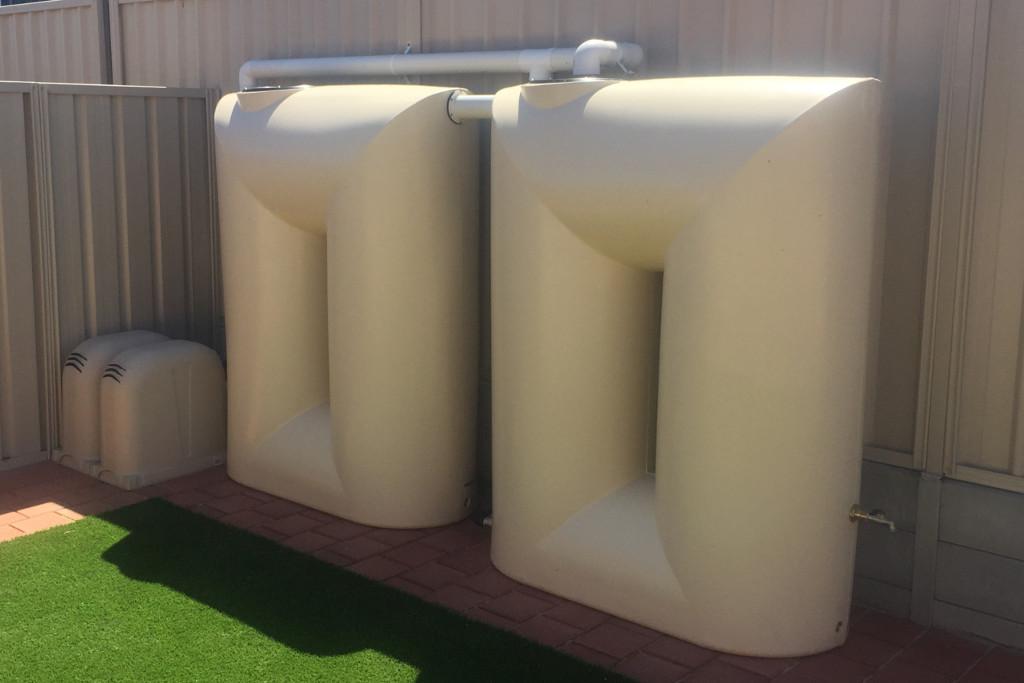 Water Tank Installation - Blackwell Plumb & Gas