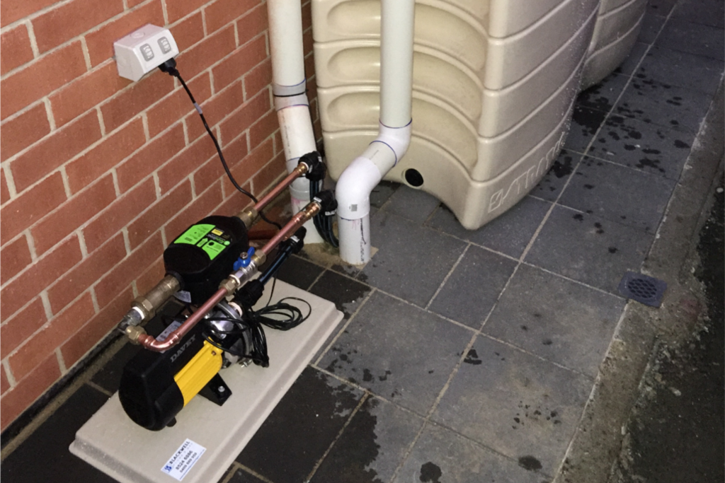 Rainwater Tank Installation - Blackwell Plumb & Gas Williamstown - 01