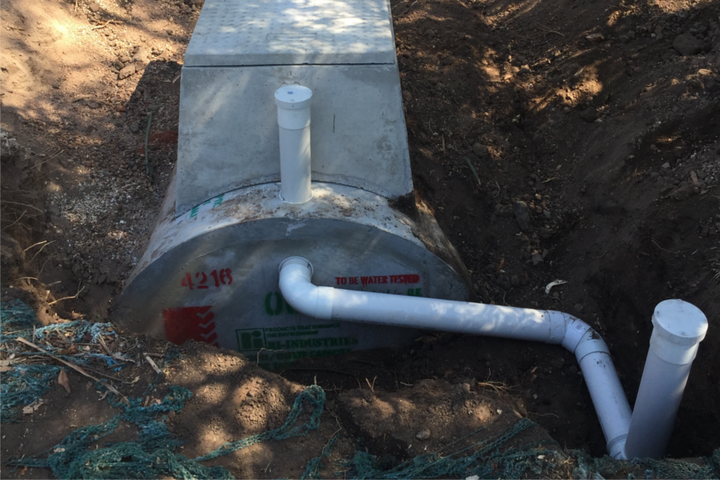 Local plumber barossa gawler blackwell plumbing for Septic tank fumes in house