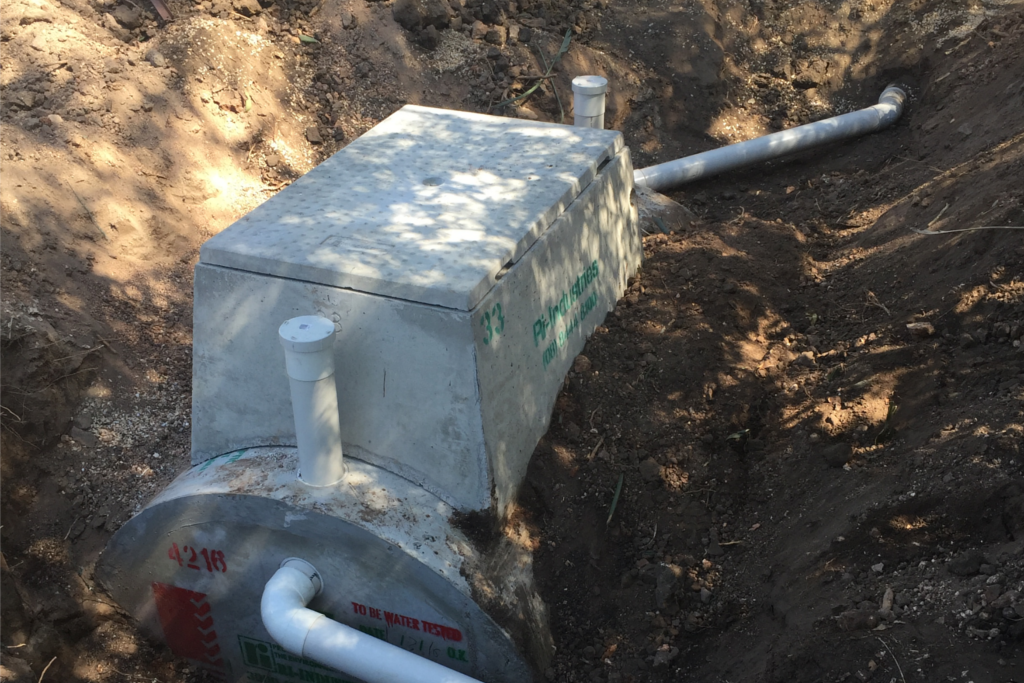 Septic Tank Installation - Blackwell Plumb & Gas Williamstown - 02