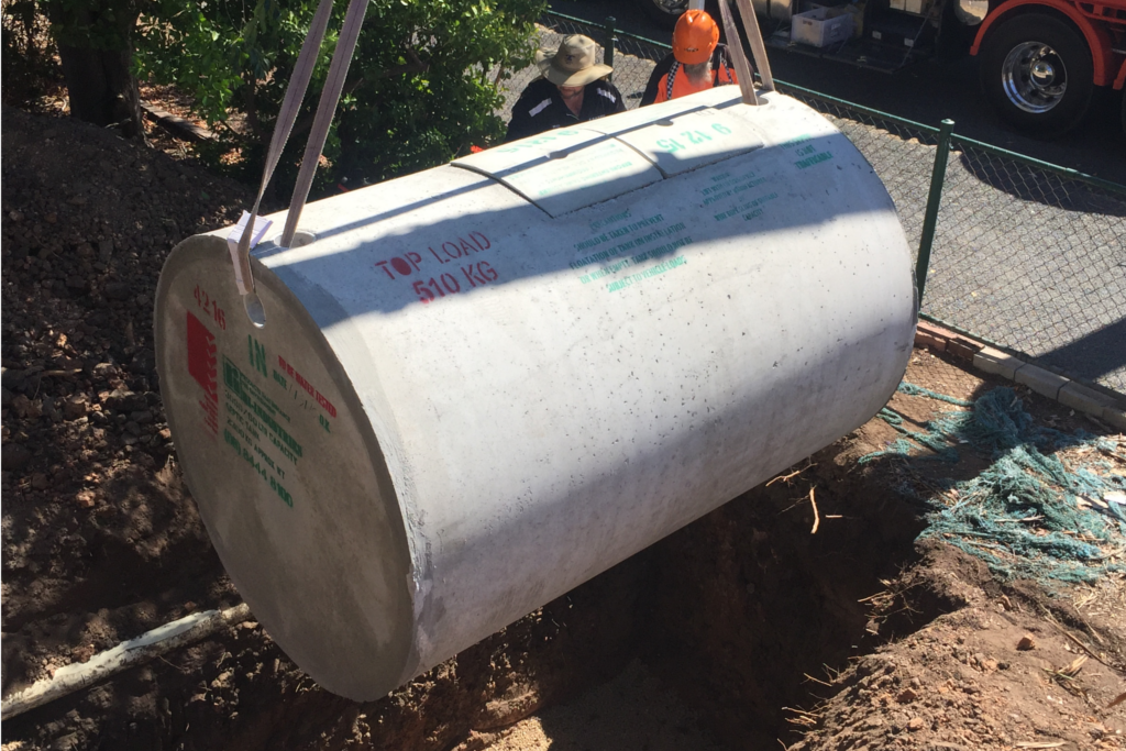Septic Tank Installation - Blackwell Plumb & Gas Williamstown - 01