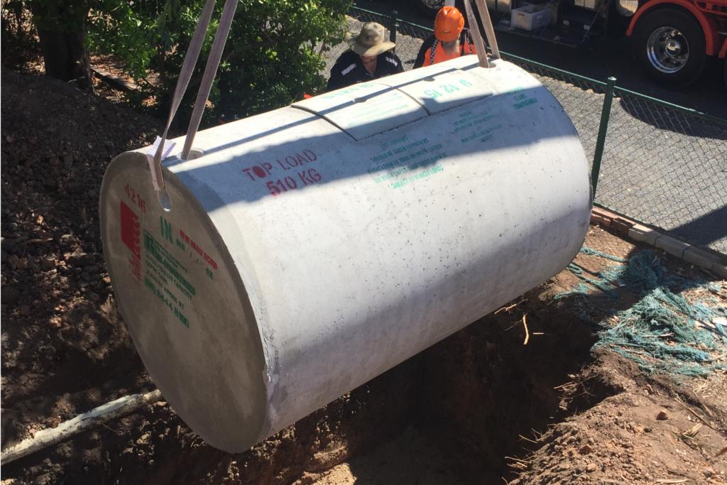 Septic Tank Installation - Blackwell Plumb & Gas Williamstown - 01